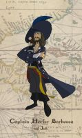 Captain Hector Barbossa by AntVar
