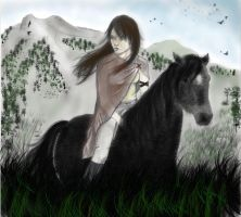 Horse Woman - Modified by emicathe