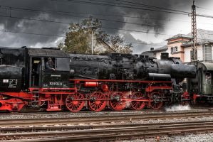 Old Train by Harlekin-Photos