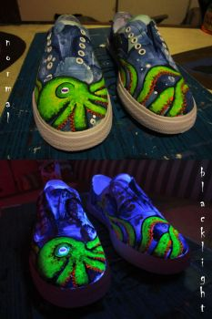 Octopus Shoes by xXlokiXx