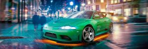 Mitsubishi Eclipse by AS001