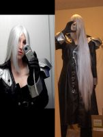 New Sephiroth Wig by Vega-Sailor-Cosplay