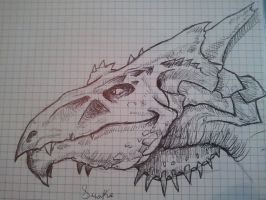 White dragon from DeD v3.5 by NecronSautekh