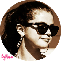 Selena Gomez Circulo PNG by MiruJLoEditions