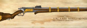 ARGARM M1832/40 Precision Needlerifle by TheGhostBox