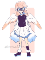 ||OTA|| Winged Girl Adopt - CLOSED! by ShoniiAdopts