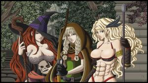 Dragon's Crown Ladies by KeyWithoutATone
