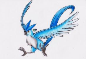 #144 - Articuno by GTS257-CT