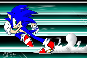 Sonic is 21 omg :WALLPAPER: by WhiteFire-Inc
