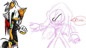 PChat: Mai and doodle knux by V1ciouzMizzAzn