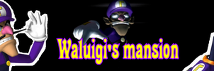 Waluigi's Mansion by Cyborgchimp