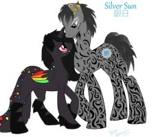 Neon Bass and Silver Sun by Chii-Uso