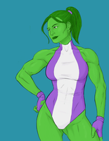 She-Hulk by torispencer