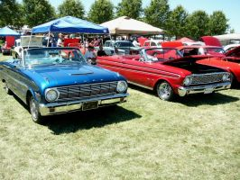 Ford Falcons of 1963 and 1964 by RoadTripDog