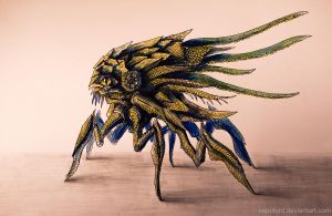 Alien bug concept by Vapolord