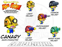 Canary Kaboom Main Character by chriscrazyhouse