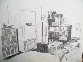 Another view of the livingroom by ryliecat