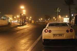 Nissan GT-R in the Rain by ramyk