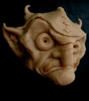 Goblin Sculpey by Bournefoul