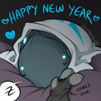 Happy New Year by zillabean