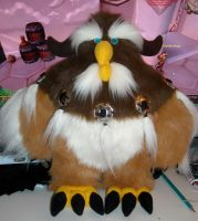 Plush Moonkin by garnetbear