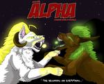 Alpha comic - front cover by lunagriff