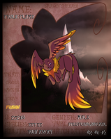 Frolic Flame Reference - Fire/Flying Eevee by xXAuraTaurusXx