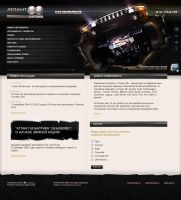 Hummer - site concept by smitana