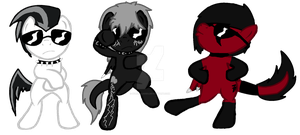 Gangnam Style Stallions by iPandacakes