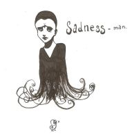 Sadness-man by Mademoiselle-Z