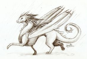 Just a random dragon :U by Anoroth