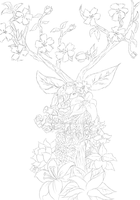 Living Forest Sketch by Ripping-Digital