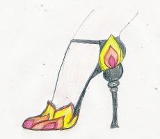 Shoes for the Girl on Fire by beautifulshininghope