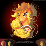 Welovefine: MLP FIM - Applejack Headphone by hinoraito