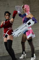 Tekken 6: Alisa and Zafina by DeathWrathAngel