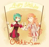 Happy _Early _birthday Orichie sama! by Diamond-Drops