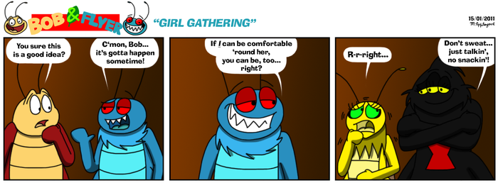 B'n'F - Girl Gathering by BluebottleFlyer