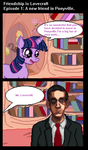 Friendship is Lovecraft: A New Friend in Ponyville by general-abe