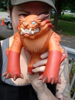 Foo dog toy here by missmonster