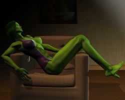 She hulk - Exclusive 13 by MorganCygnus