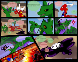 Twin Fang Page: 2 by CriexTheDragon