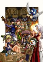 Fairy Tail by Piercebros
