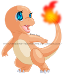 Pokeversary Day 1: Flame by HigginstheAwesome