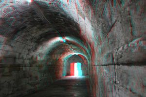 Tunnel 3-D conversion by MVRamsey