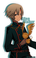 Allen Walker by KimKimsGalore