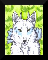 Lupatus ACEO by The--Working-Wulf