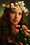 The Lady of the Flowers by TheRaPhotography