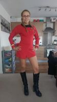 Star Trek Original Series - Uhura Uniform by phoenixkeyblack