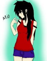 Mio Grearr Pose by MonteyRoo