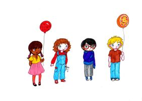 Five Nights at Freddy's Kids by Miximini